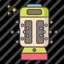 disinfectant, robot, sprayer