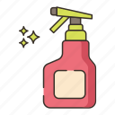 agent, bottle, cleaning, spray