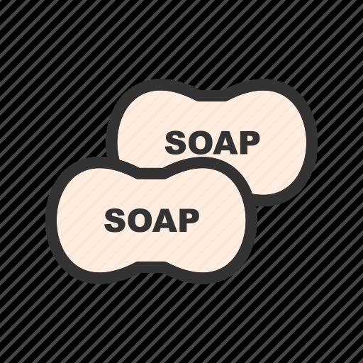 bar, bottle, clean, health, hygiene, liquid, soap icon