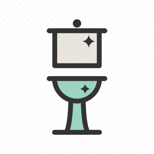 bath, bathroom, clean, domestic, house, sink, tile icon
