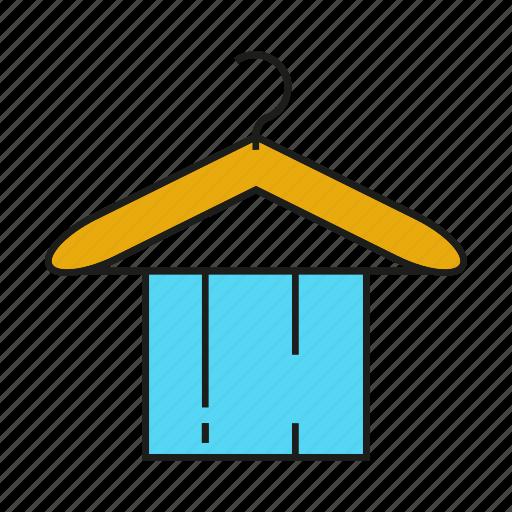 bathroom, hanger, hygiene, towel icon