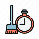 bathub, clean, cleaning, housekeeping, housemaid, tools, washing icon