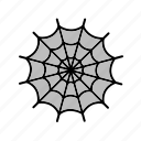 cleaning icon, spider, spider web, web icon