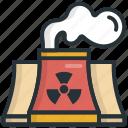 air, nuclear, plant, pollution, powe