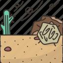desert, sand, dry, hot, nature