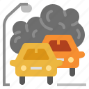 emissions, pollutant, pollution, climate change, pm2.5 icon