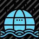flood, global, level, rise, sea