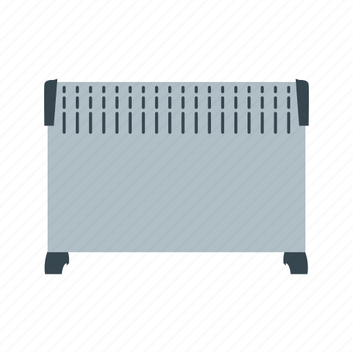 convector, heater, home, indoor, metal, metallic, water icon