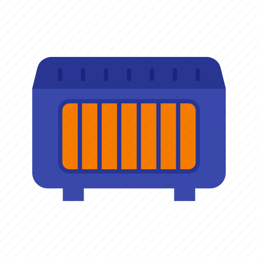 Heater, natural, winter, gas, hot, warm, cold icon - Download