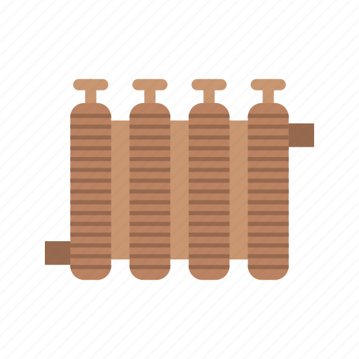 heater, home, radiator, temperature, thermostat, wall, warm icon