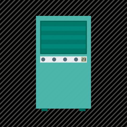 Control, remote, air, conditioner, vents, display, cool icon