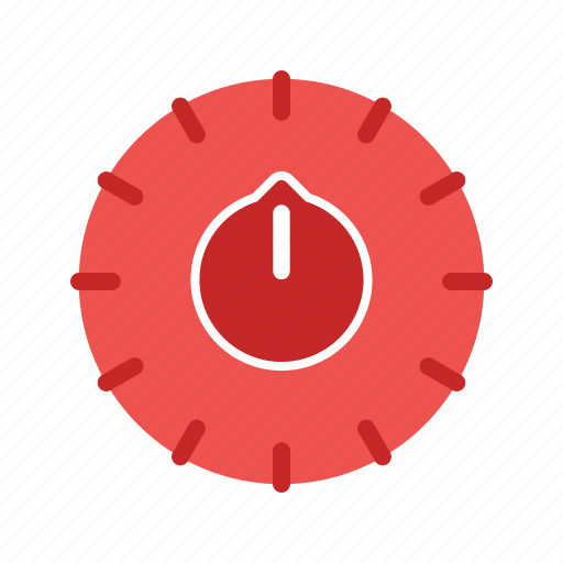 control, digital, equipment, setting, temperature, thermostat icon