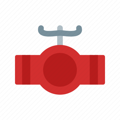 Industrial, metal, pipe, pipeline, steel, valve, water icon - Download on Iconfinder