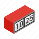 alarm, concept, minute, modern, number, time, watch icon