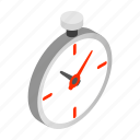 antique, clock, isometric, pocket, retro, time, watch icon