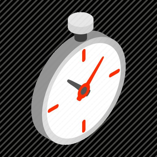 antique, clock, isometric, pocket, retro, time, watch icon