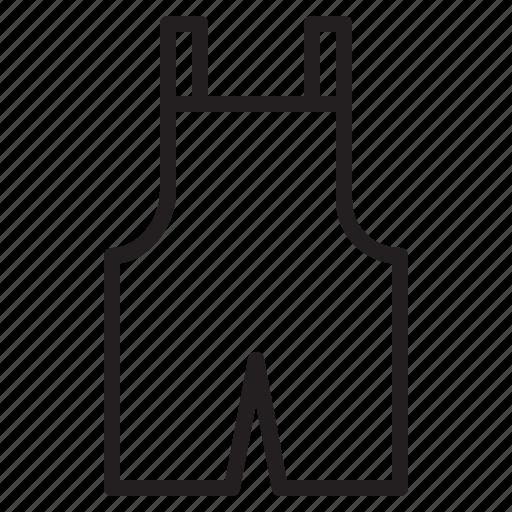cloth, fashion, overalls, short icon