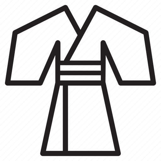 cloth, japan, wear, yukata icon