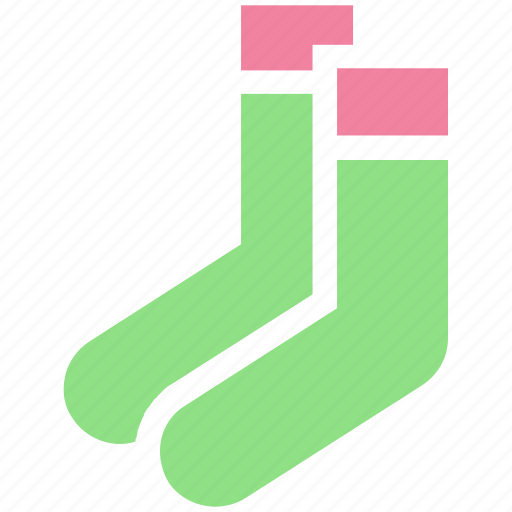 accessories, christmas, clothes, fashion, laundry, sock, socks icon