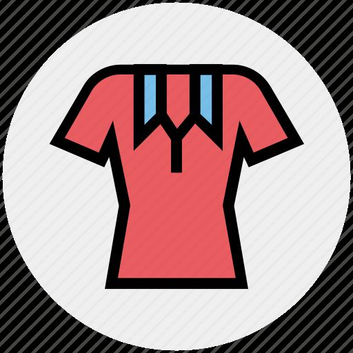 collar, collar shirt, polo, polo shirt, shirt, short sleeve, short sleeve polo shirt icon