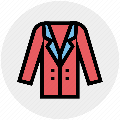 Clothes, coat, jacket, long coat, man, over, woman icon - Download on Iconfinder