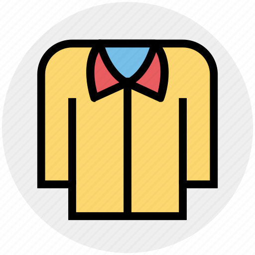 Apparel, casual, clothe, collar, fashion, shirt, wear icon - Download on Iconfinder