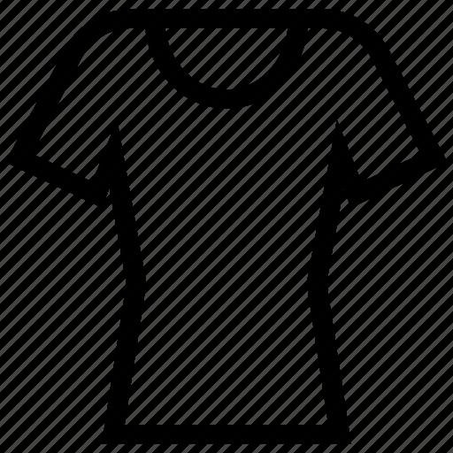 clothe, fashion, shirt, t shirt, t-shirt, tight fit, tight fit shirt icon