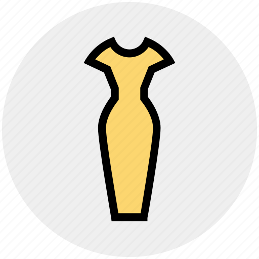 Clothes, dress, fashion, female, ladies dress, style, woman icon - Download on Iconfinder