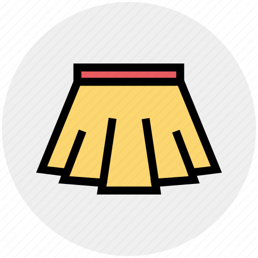 Apparel, clothes, dress, female, lady, skirt, wear icon - Download on Iconfinder