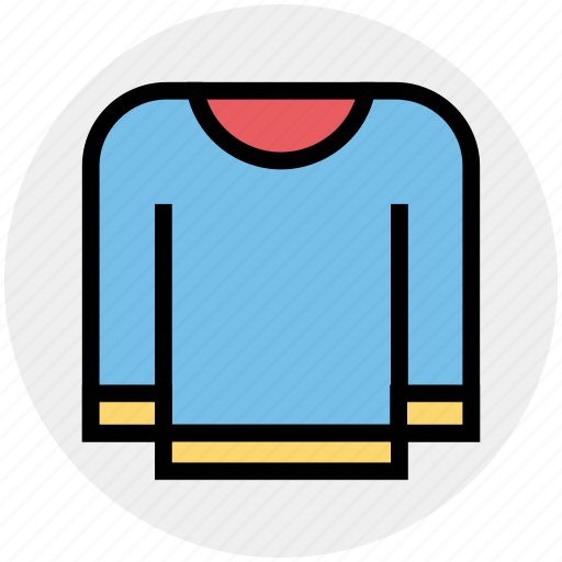 Clothe, fashion, pullover, sweater, warm, winter, winter clothes icon - Download on Iconfinder