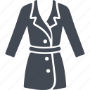 clothes, costume, jacket, skirt, wear icon