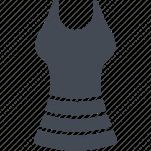 clothes, clothing, dress, fashion, sarafan icon