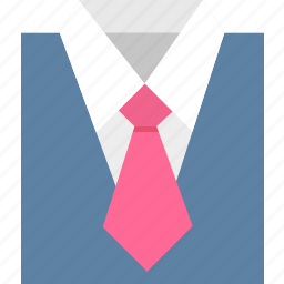 avatar, character, human, profile, suit icon