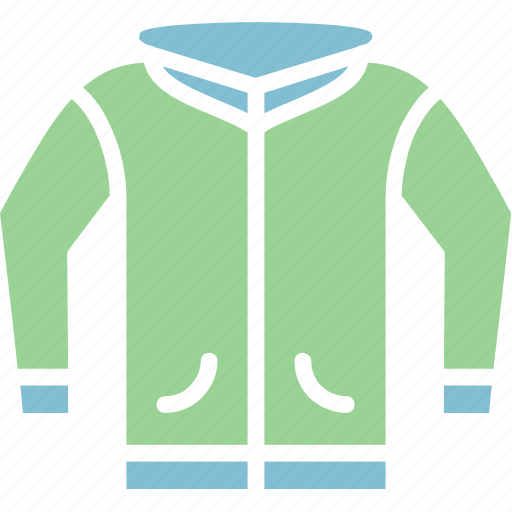 clothes, hoodie, jacket icon