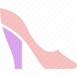 heel, heels, high heels icon