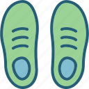 footwear, shoes, sneakers icon