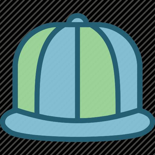 fashion, hat, snapback icon