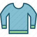 clothes, garment, sweater icon