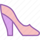 heel, heels, high heels icon