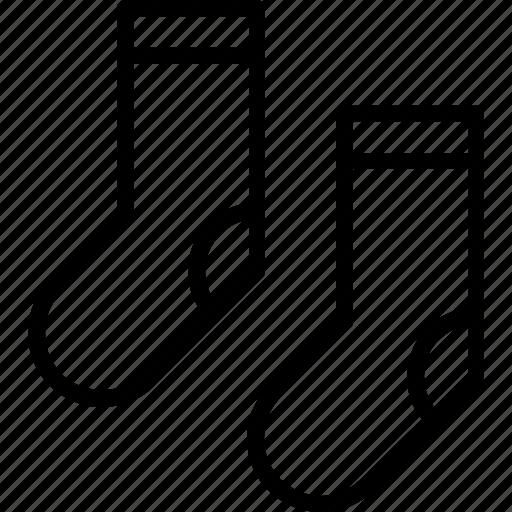 sock, socks, stocking icon