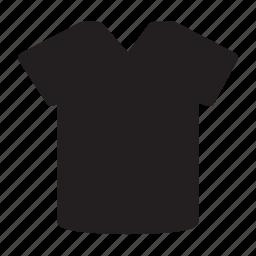 clothes, clothing, men, plain, style, tshirt icon