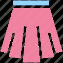 apparel, clothes, dress, female, lady, lady dress, skirt, wear, woman icon