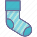 sock, socks, stocking icon