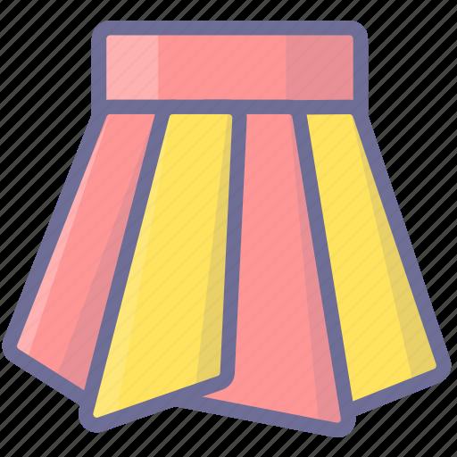 dress, skirt, wear icon