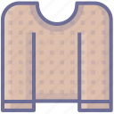 clothes, jersey, sweater icon