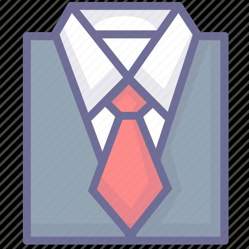 businessman, clothes, clothing, shirt, suit icon