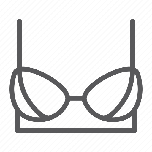 bra, fashion, female, lingerie, size, underwear icon