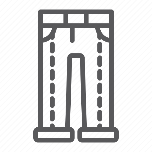 Apparel, casual, clothing, jeans, pants, textile, trousers icon - Download on Iconfinder