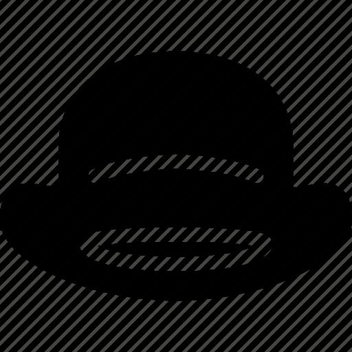 bowler, cap, hat, head, man icon