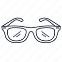 accessories, clothes, fashion, sunglasses icon